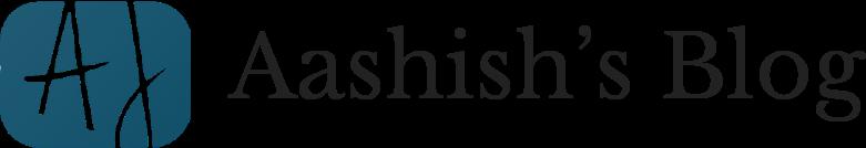 Aashish's Blog